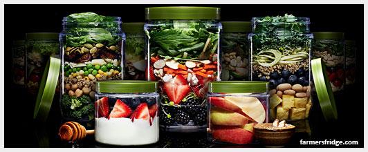 Автомат для продажи овощных и фруктовых салатов